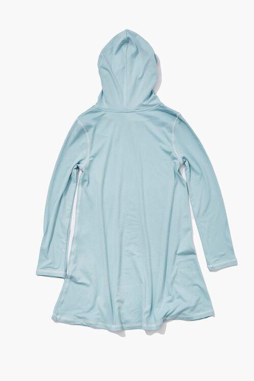 BLUE HAZE Girls Hooded Dress (Kids), image 2