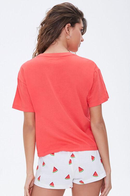 Watermelon Graphic Pajama Set, image 3