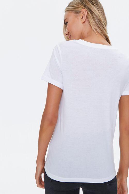 Basic Cotton-Blend V-Neck Tee, image 3