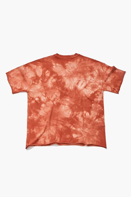 RUST/MULTI Dump Him Graphic Tie-Dye Tee, image 2