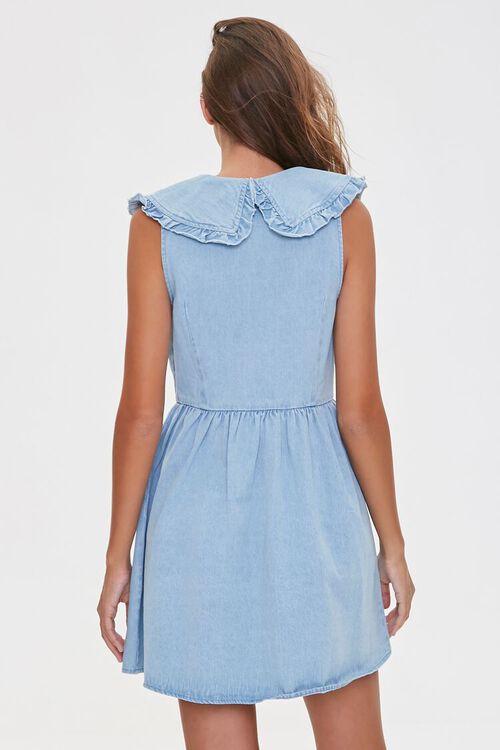 Denim Fit & Flare Dress, image 3