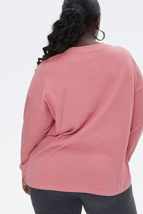 Plus Size Floral Long-Sleeve Tee, image 3