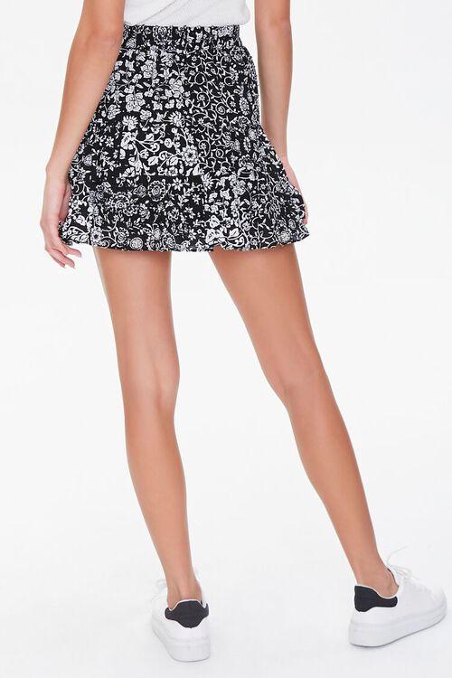 Floral Print Mini Skirt, image 4