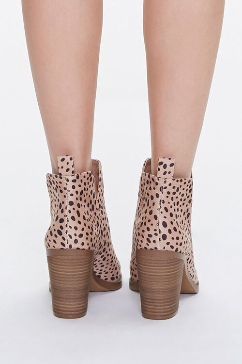 Cheetah Stacked Heel Booties, image 3