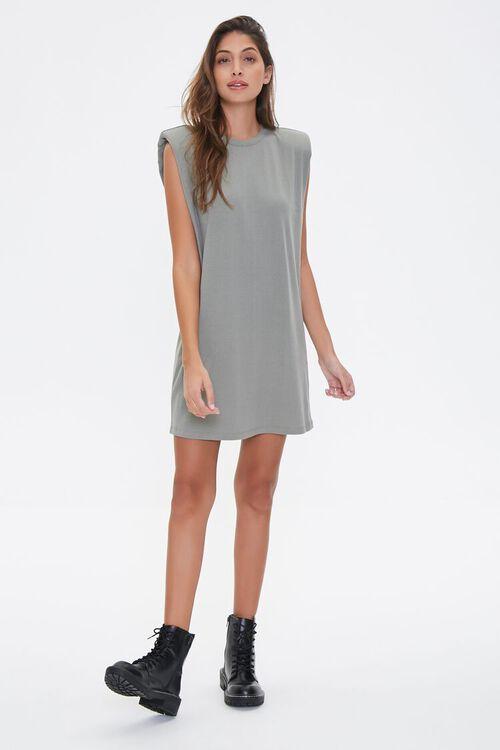 Padded T-Shirt Dress, image 4