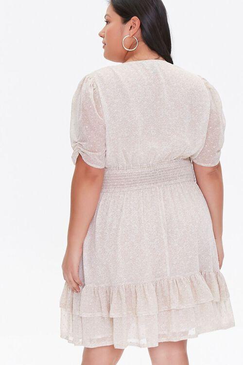 Plus Size Floral Flounce Dress, image 3