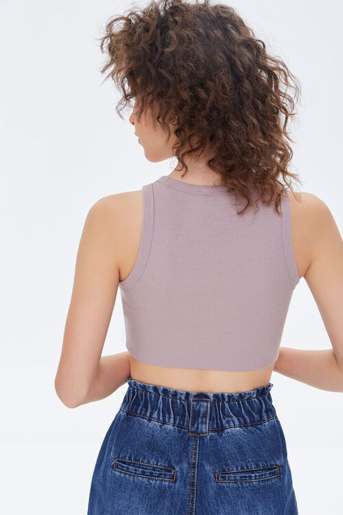 Scalloped Cropped Tank Top, image 4