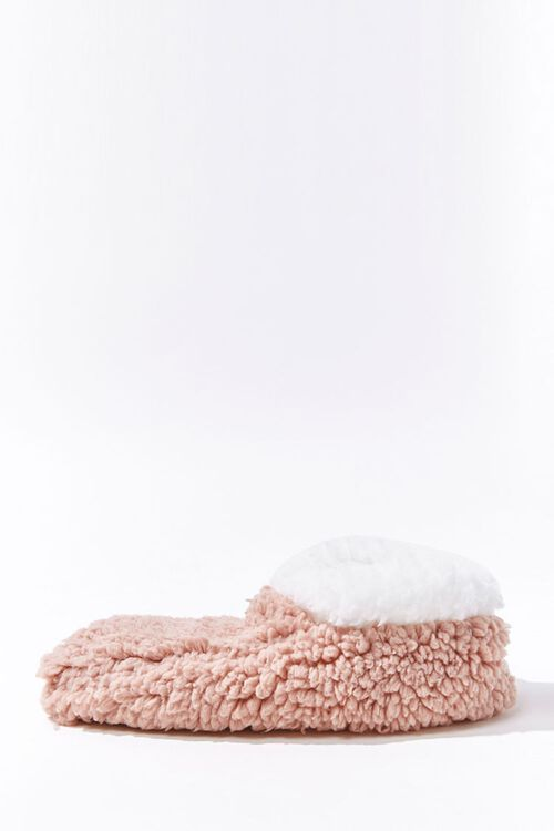 Faux Shearling Indoor Slippers, image 2