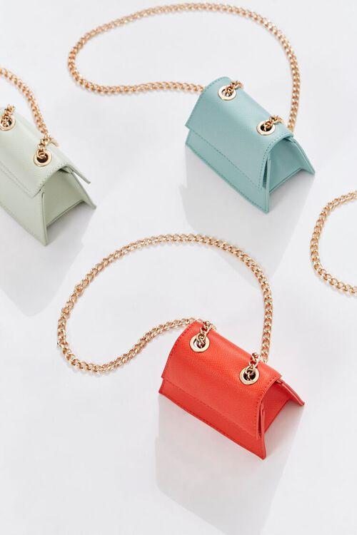 Mini Faux Leather Crossbody Bag, image 1