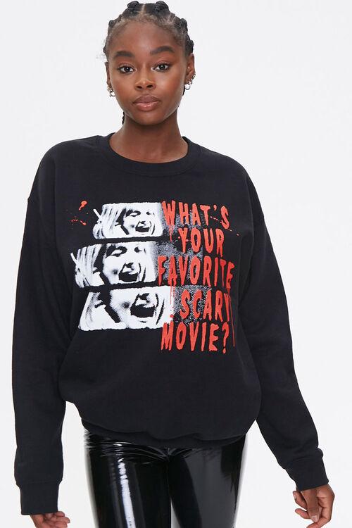 Scream Graphic Sweatshirt, image 1