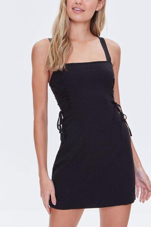 Lace-Up Mini Dress, image 1