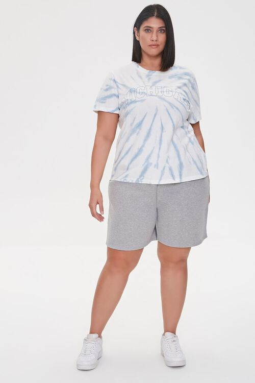 Plus Size Michigan Graphic Tie-Dye Tee, image 4