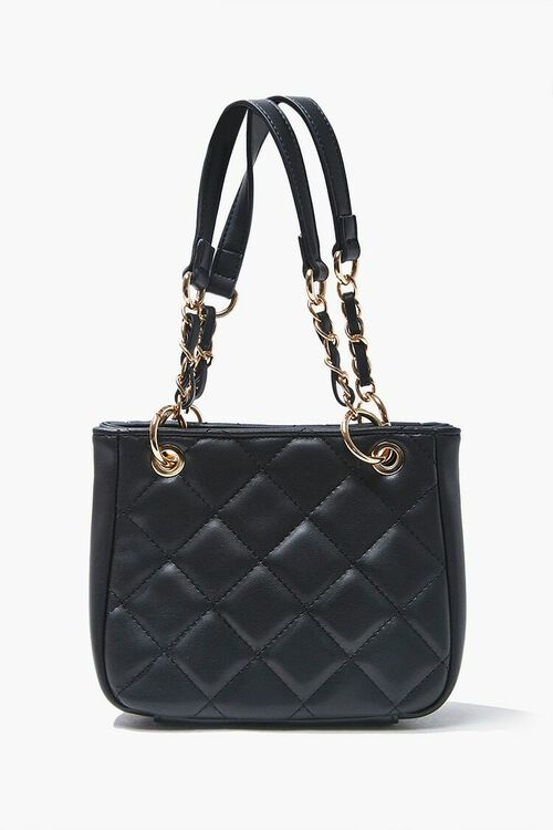Mini Quilted Tote Bag, image 1