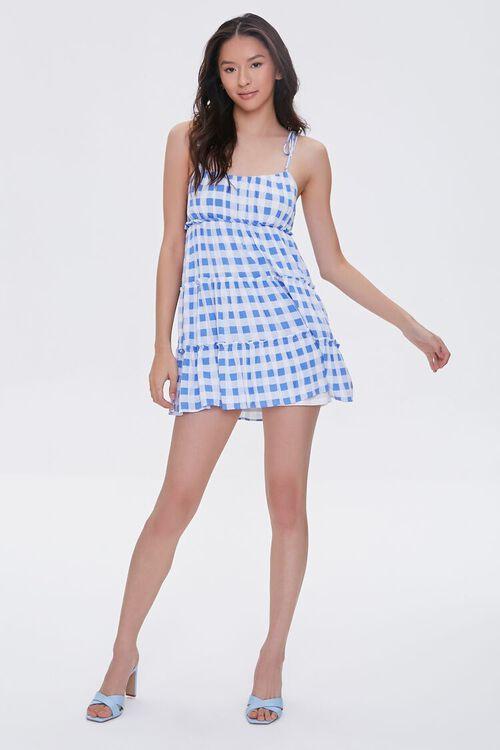 Buffalo Plaid Cami Mini Dress, image 4