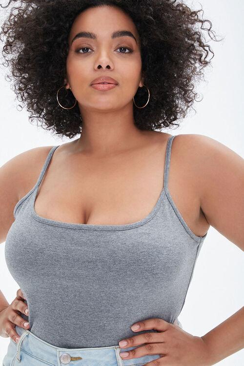 Plus Size Cami Bodysuit, image 1