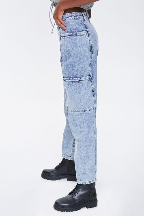 ACID DENIM Relaxed Acid Wash Jeans, image 3