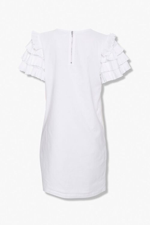Ruffled Shift Dress, image 2
