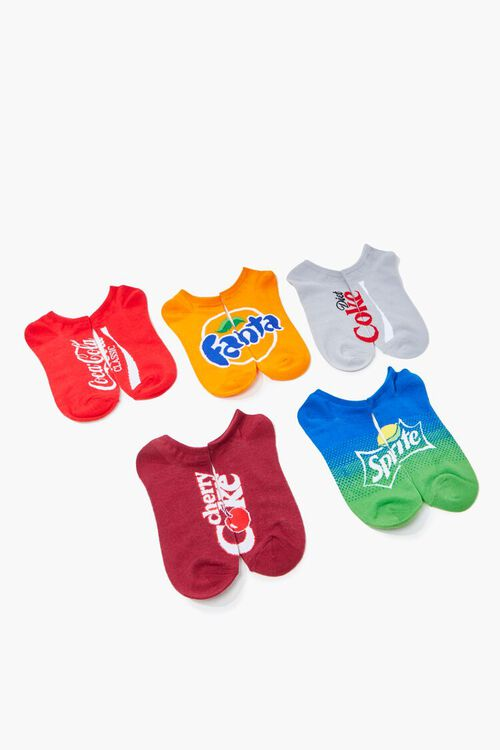 Soda Graphic Ankle Socks Set - 5 pck, image 1