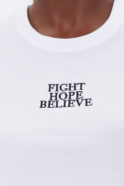Stand Up To Cancer Fight Hope Believe Tee, image 5