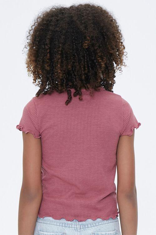 Girl Lettuce-Edge Tee (Kids), image 3