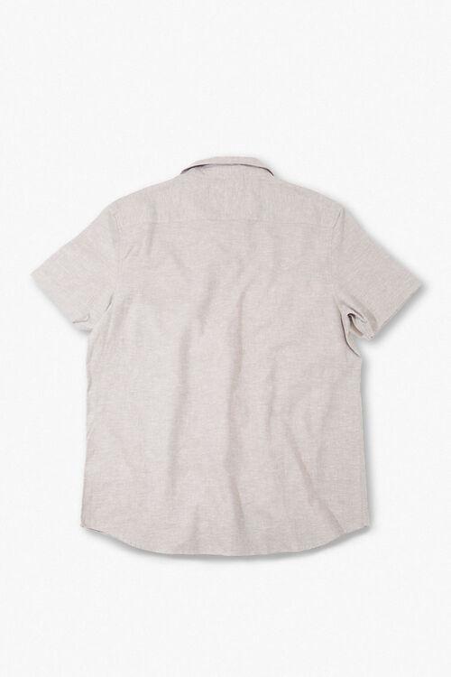 Linen-Blend Pocket Shirt, image 2