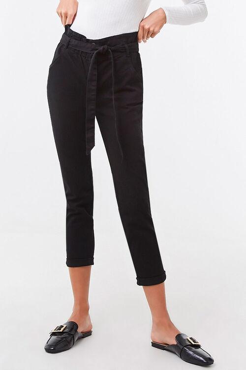 Belted Paperbag Pants, image 2