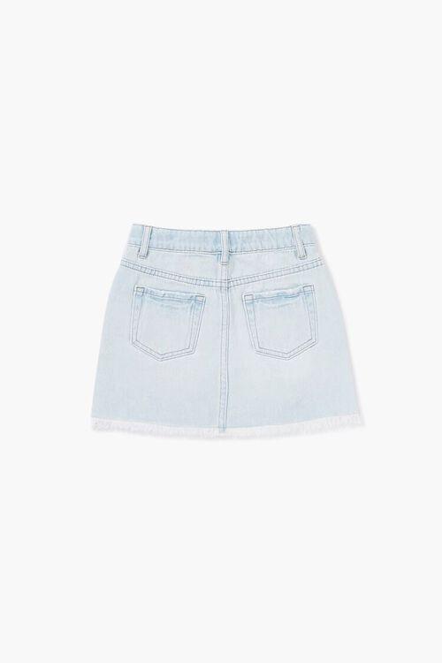 Girls Distressed Denim Skirt (Kids), image 2