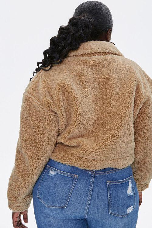 Plus Size Faux Shearling Jacket, image 3