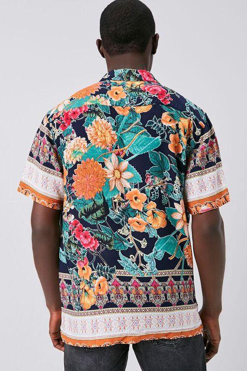 Tropical Print Cuban Shirt, image 4