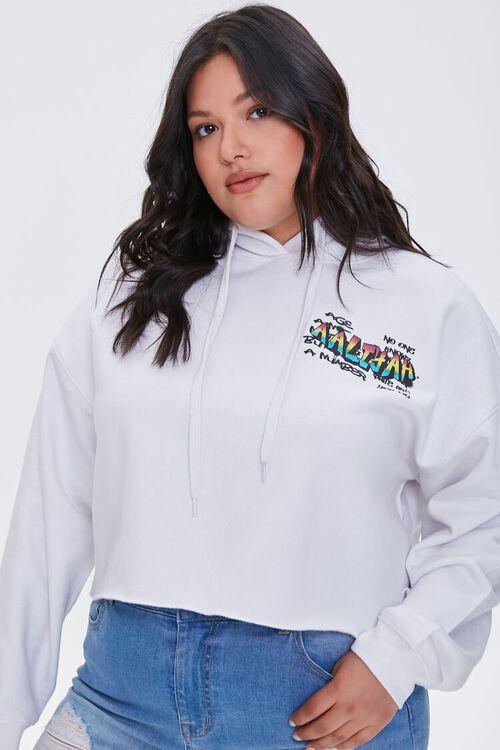 Plus Size Aaliyah Graphic Hoodie, image 1