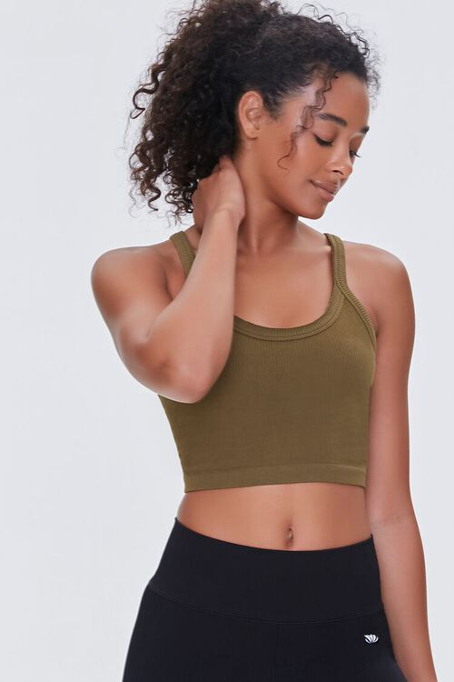 OLIVE Seamless Cropped Cami, image 1