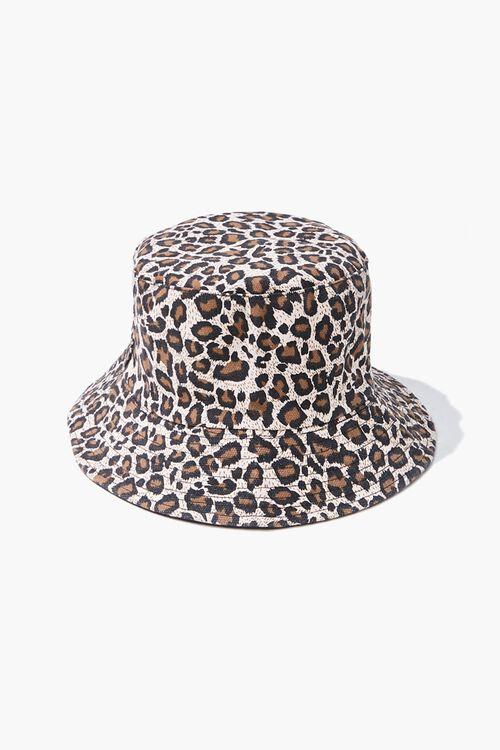 Leopard Print Bucket Hat, image 1