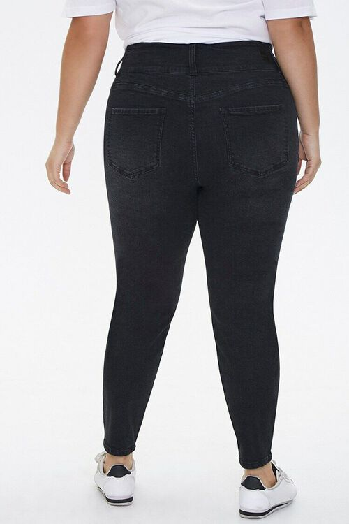 Plus Size Curvy-Fit Skinny Jeans, image 4