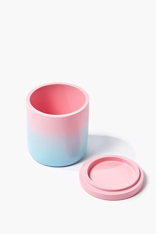 PINK/BLUE Ombre Resin Canister, image 3
