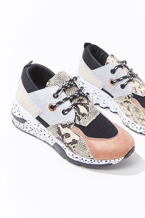 Patternblock Low-Top Sneakers, image 3