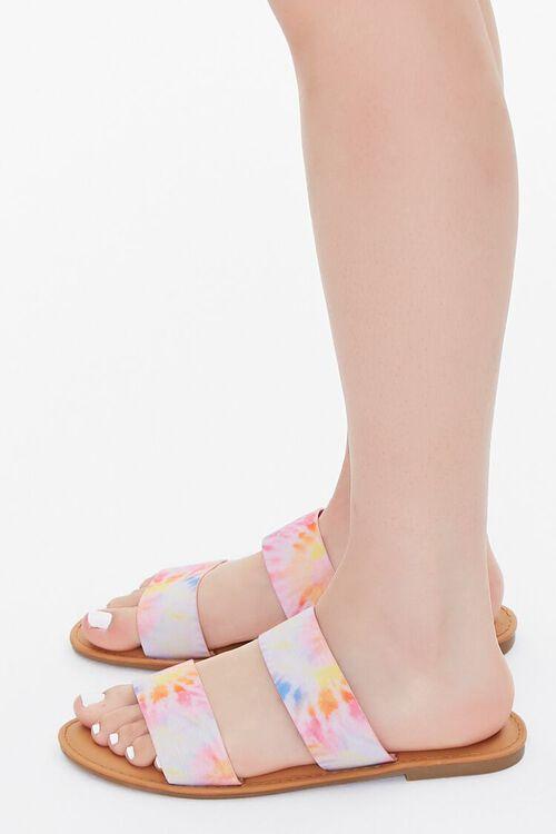 Tie-Dye Dual-Strap Sandals, image 2