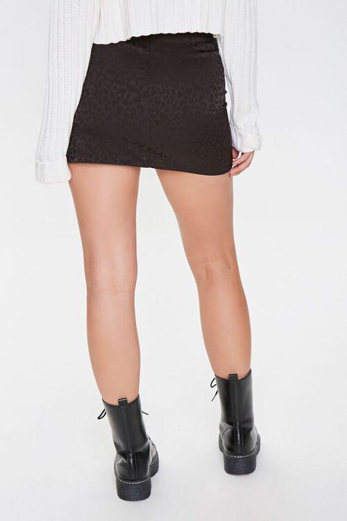 Leopard Print Mini Skirt, image 3