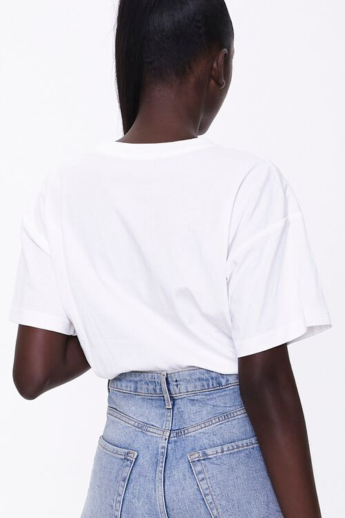 Rose Graphic Toggle Tee, image 3