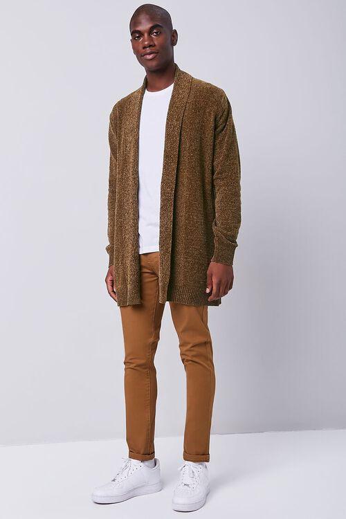 Brushed Knit Cardigan Sweater, image 4