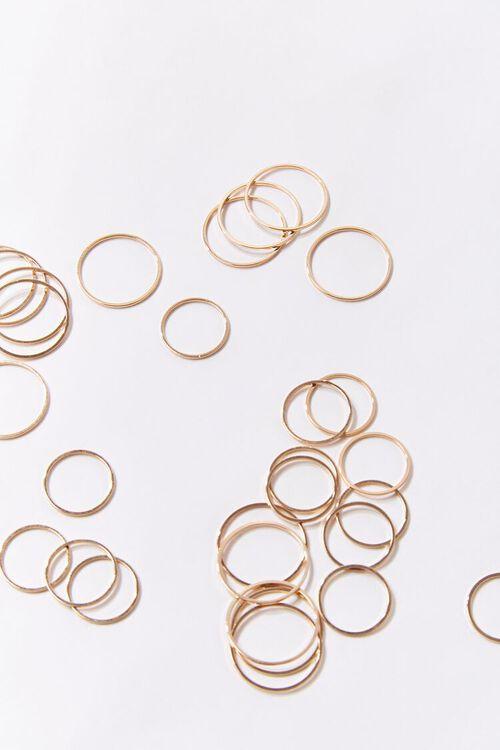 Smooth High-Polish Ring Set, image 2