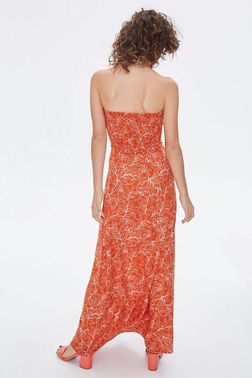 Tropical Print Maxi Tube Dress, image 3