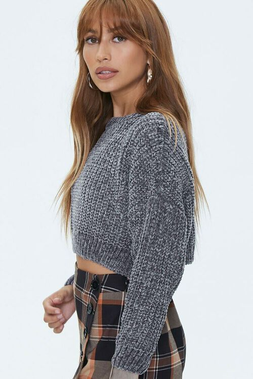 Ribbed Chenille Sweater, image 2