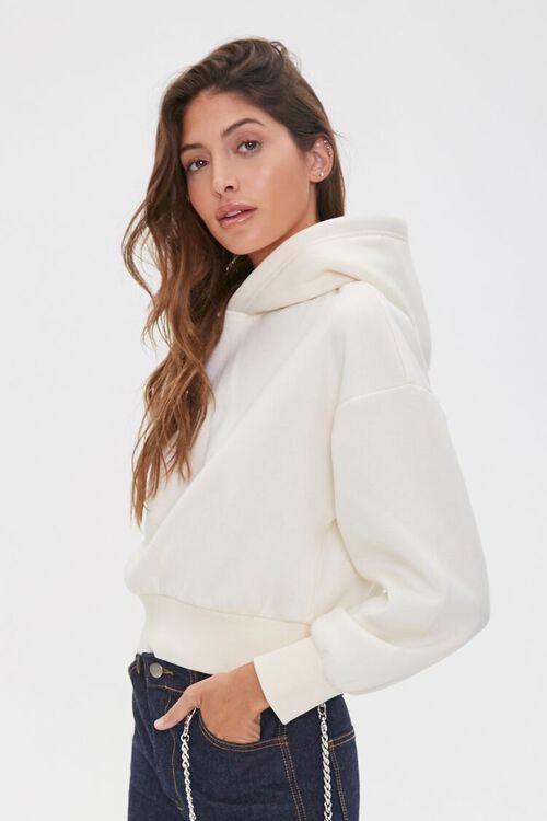 Fleece Drop-Sleeve Hoodie, image 2