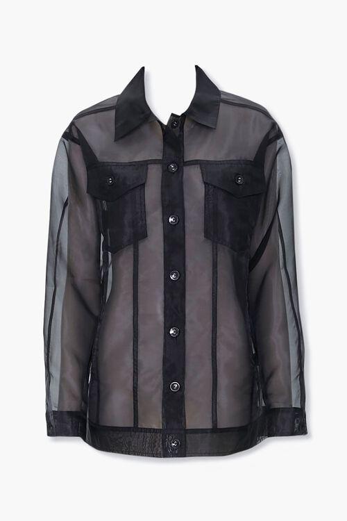 Sheer Organza Jacket, image 1