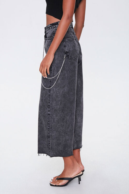 Wide-Leg Ankle Jeans, image 3