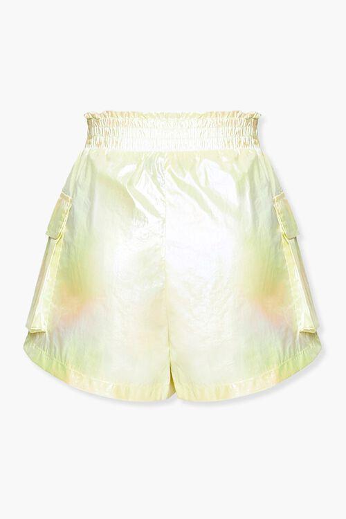 Iridescent Paperbag Shorts, image 3