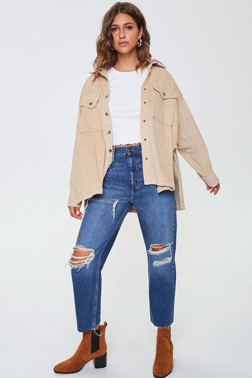 Corduroy Snap-Button Jacket, image 4