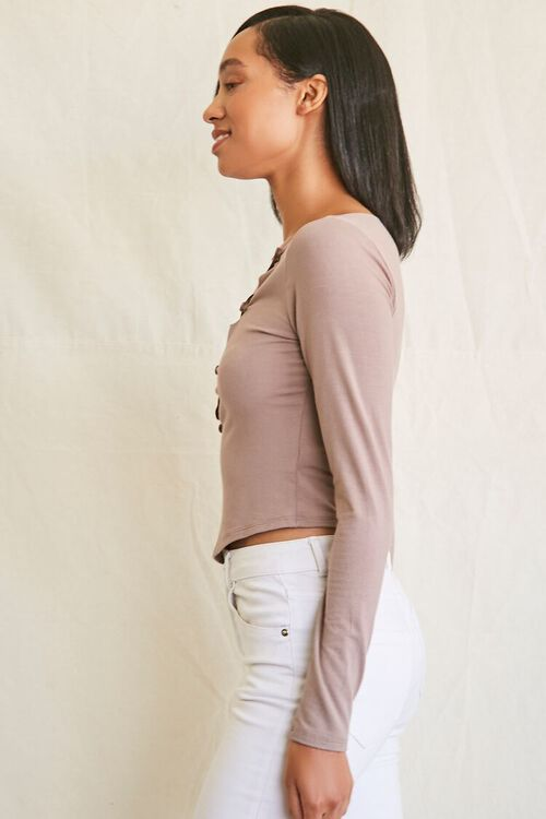 Asymmetrical Buttoned Top, image 2