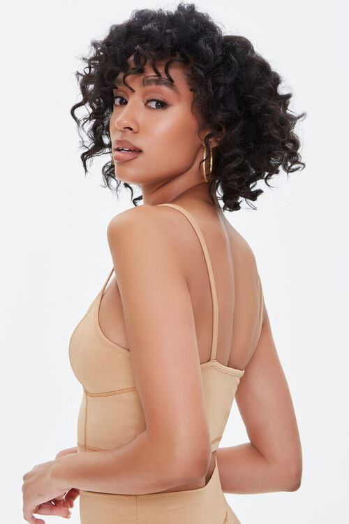 NUDE Seamed Cropped Cami, image 2