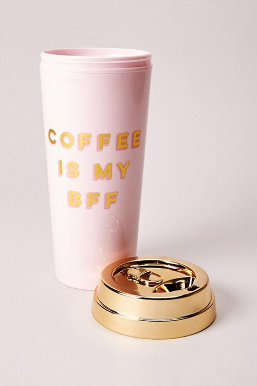 Deluxe Hot Thermal Mug – Coffee Is My BFF, image 1